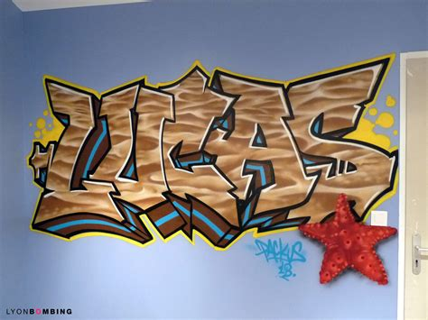 Tag Chambre Ado - prénom graffiti dans chambre chambre lyonbombing