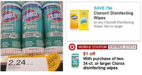 New Clorox Wipes Coupon + Target Deal - Who Said Nothing