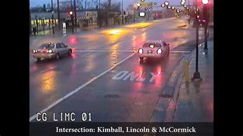 chicago red light camera tickets video red light camera footage chicago tribune