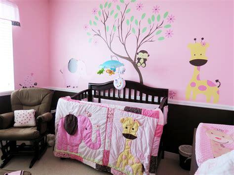 Pink & Chocolate Baby Girl Jungle