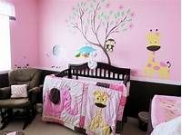 nursery ideas for girls Creative Tradition: Pink & Chocolate Baby Girl Jungle ...