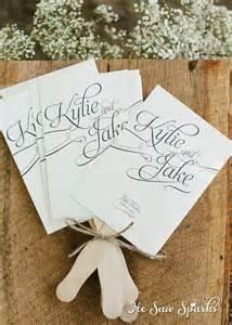 diy wedding programs fans printable paddle fan program diy with proof by hesawsparks