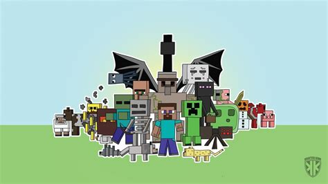 minecraft images wallpapers wallpaper cave