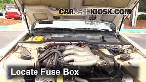 Interior Fuse Box Location  1983-1991 Porsche 944