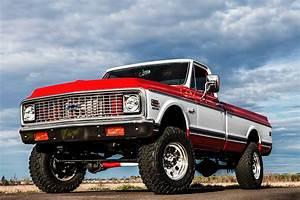 Ron Braxling U2019s Las Powered  U201972 Chevy Truck  U2013 Roddin
