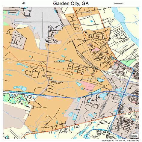 Garden City Usps by Garden City Map 1332048