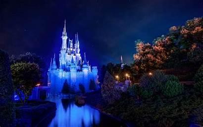 Disney Castle Walt Cinderella Magic Kingdom Wallpapers
