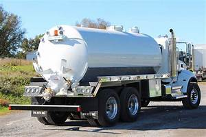 3600-gallon Septic Truck - Sold