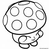 Shopkins Coloring Pages Mushy Miss Moo Mushroom Printable Season 1s Limited Colouring Edition Bubbles Books Shopkin Info Colour Adults Wanted sketch template