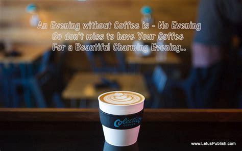 Gud Evening Quotes With Coffee