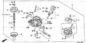 Honda Scooter 2003 Oem Parts Diagram For Carburetor