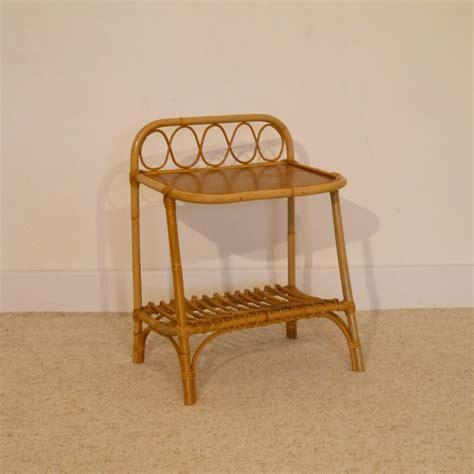 petit meuble vintage appoint chevet rotin la maison retro