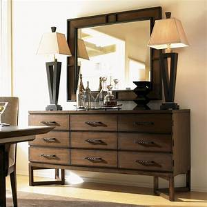 11 South Ovation Sideboard and Mirror Sideboards and Servers