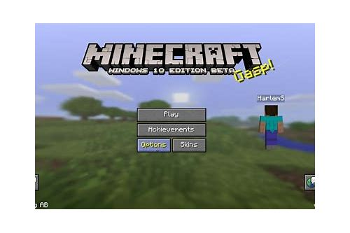 can you download minecraft on windows 10