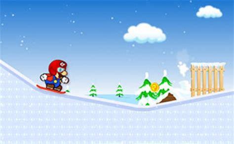 jeux de cuisine de gratuit nouveaux mario planche a neige jouez gratuitement à mario planche