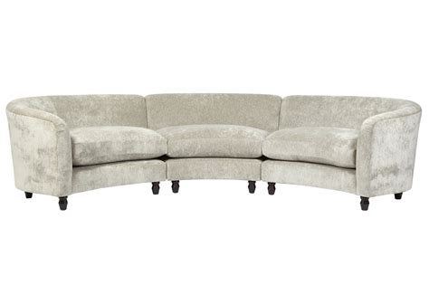 curved sofa ashley furniture home element astoria upholstered large curved sofa laura
