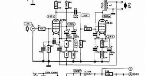 Wiring Schematic Diagram  Tube Ef86   El34 8watt Single