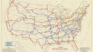 A Map Of The First Proposed U S  Highway Network