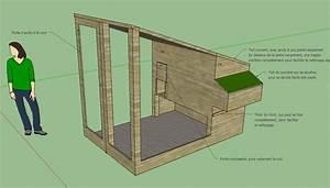 Plan Poulailler 5 Poules : construction du poulailler maison et domotique ~ Premium-room.com Idées de Décoration