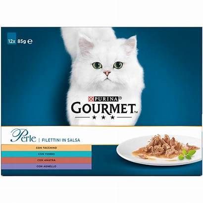 Gourmet Perle Gatto 85 Kattenvoer Purina Seaside
