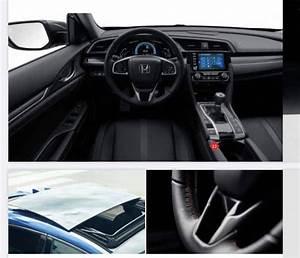 2020 Civic Hatchback Gets Styling Updates  Tech Upgrades