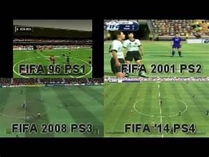 FIFA Comparisons: PS1/PS2/PS3/PS4 || 1996/2001/2008/2014 ...
