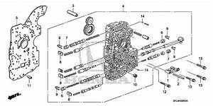 2007 Honda Odyssey Body Parts Diagram