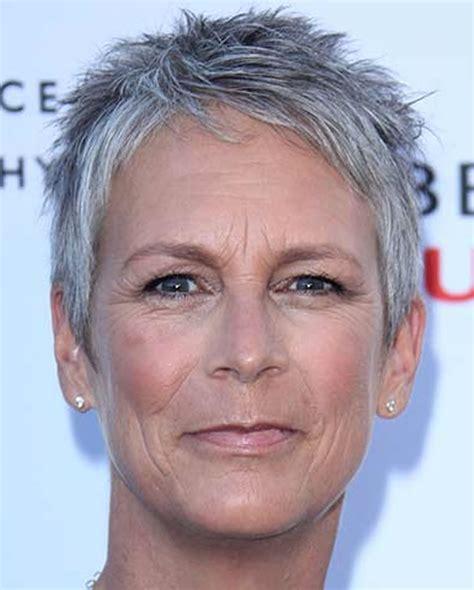 short gray hairstyles  older women   gray hair