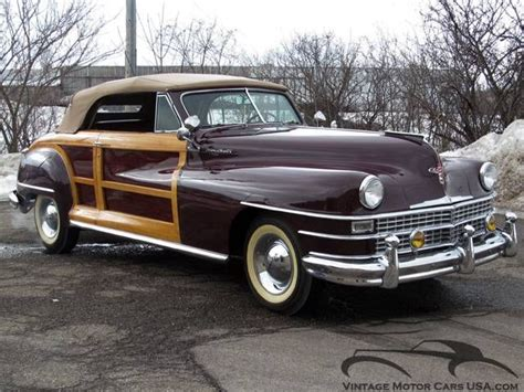 Boats For Sale Near Andover Ma by 1948 Chrysler Town Country Convertible For Sale