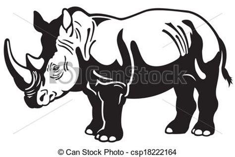 white rhinoceros clipart   cliparts