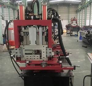 Interchangeable C Z Purlin Roll Forming Machine With