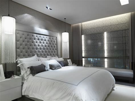 modern black and white bedroom 16 modern grey and white bedrooms 19240 | photo1