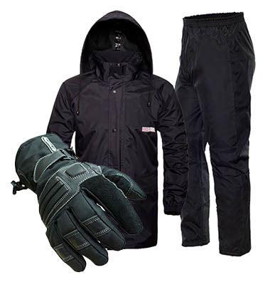 motorcycle rain gear waterproof pants and jacket coat nj