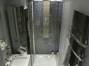 carrelage salle de bain a l39italienne With jolie salle de bain italienne