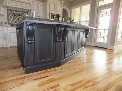 kitchen island with corbels kitchen island painted black corbels counter top