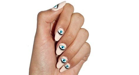 Artist Designed Nail Wraps With Nail Art Made From Real