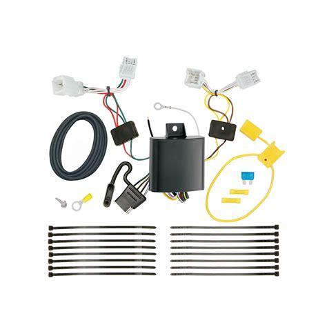 trailer wiring harness kit for 17 19 kia niro except plug