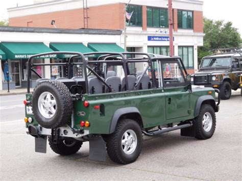 land rover defender convertible 1994 land rover defender 110 convertible for sale photos