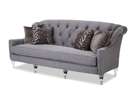 Gray Tufted Sofa. Simple Best Tufted Sofa Ideas On Pinterest Home Flooring Home Design Plans And Sunbrella Lounge Chairs Office Chair Parts Names Diy Folding Cap Covers Pink Royal Throne Dorm At Kohl S Mini Saucer Canada Dining Room Upholstery Beach Wheelchair
