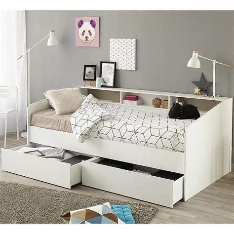 Day Beds With Drawers by Parisot Sleep Day Bed With Drawers Shelving Family Window