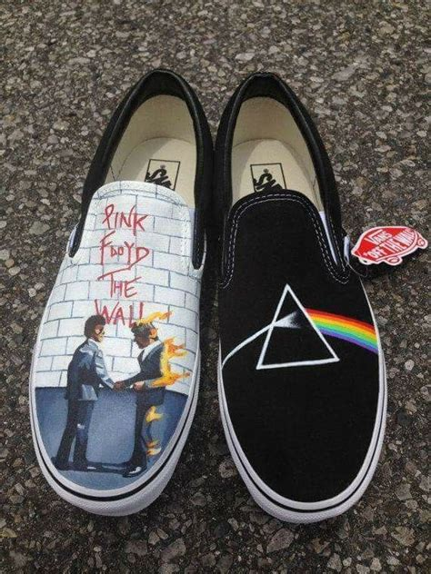 pink floyd shoes    suesse schuhe malerei