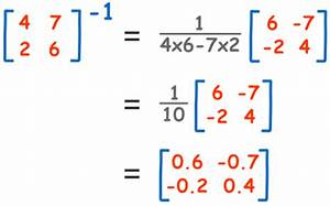 Inverse Matrix 4x4 Berechnen : 9 2 inverse of a matrix stairway to a ~ Themetempest.com Abrechnung