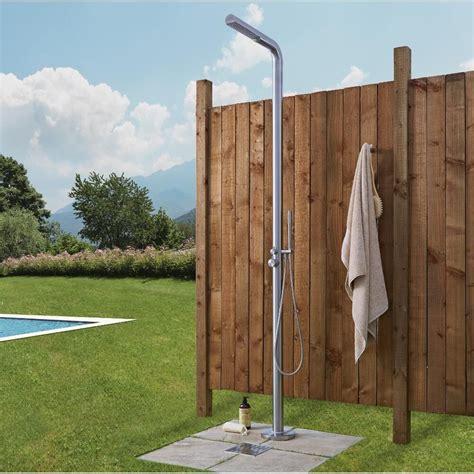 doccia in giardino doccia da giardino in acciaio inossidabile a 2 vie 2240 mm