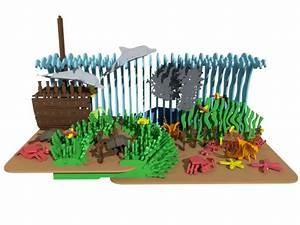 3 The Coral Reef (Premium Model) - 3D Scenes MakeCNC com
