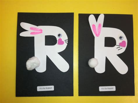letter r preschool activities r is for alphabet on raccoon craft 446