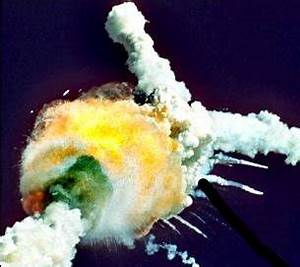 Space Shuttle Challenger Disaster Explosion - Pics about space