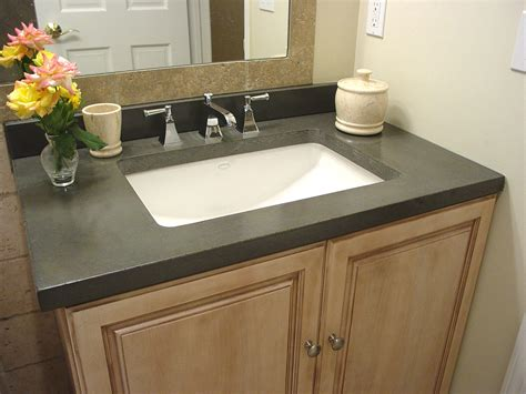 Common Bathroom Countertop Materials by Bathroom Counter Top Materials Pros And Cons