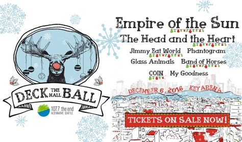 1077 the end s deck the hall ball 2016 showbox presents