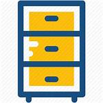 Drawers Cupboard Cabinet Icon 512px