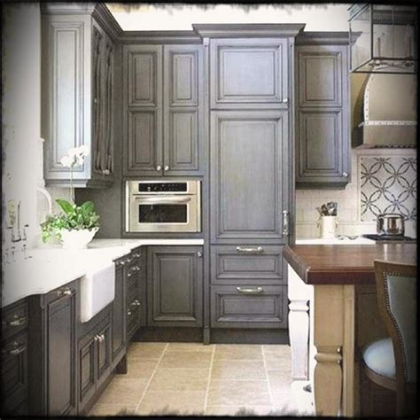 grey oak kitchen cabinets gray kitchen with oak cabinets pictures grey stained stain 4086